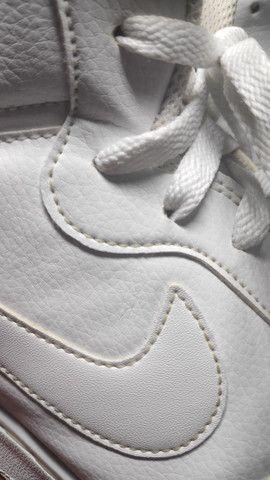 Tênis Nike Ebernon Mid Branco  - Foto 6