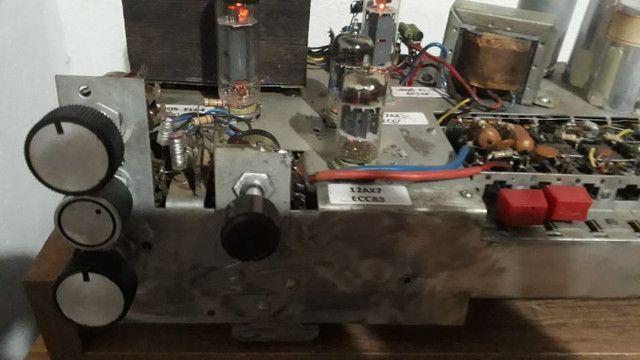 Amplificador valvulado alemão Telefunken  - Foto 3