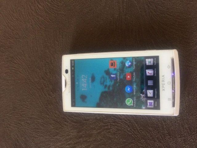 Celular Sony Ericssom xperia Branco