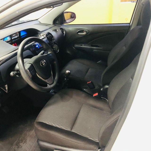 Etios sedan x 1.5 plus mec 19/20 carro impecavel - Foto 9