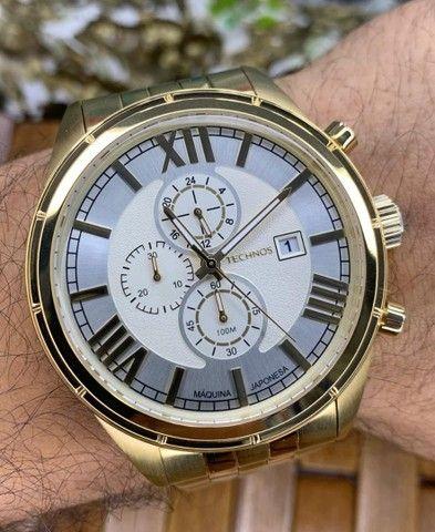 Relógios Masculinos Tecnhos originais - Foto 4