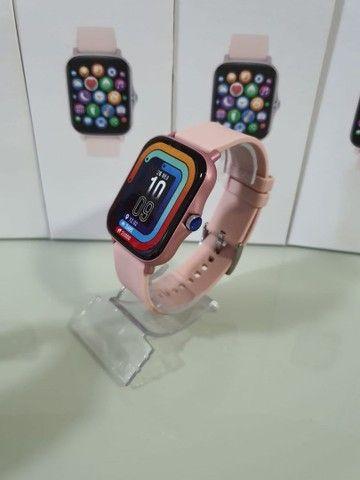 Relógio Smartwatch P8 Plus TELA INFINITA  - Foto 3