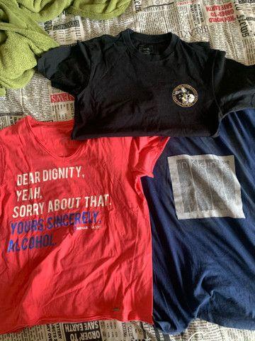 Camisetas Vans, Calvin Klein e Sergio K - P