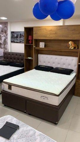 Base Box Casal Bipartida 138x188x40.Compre Direto da Nossa Fabrica.21-2764-9592
