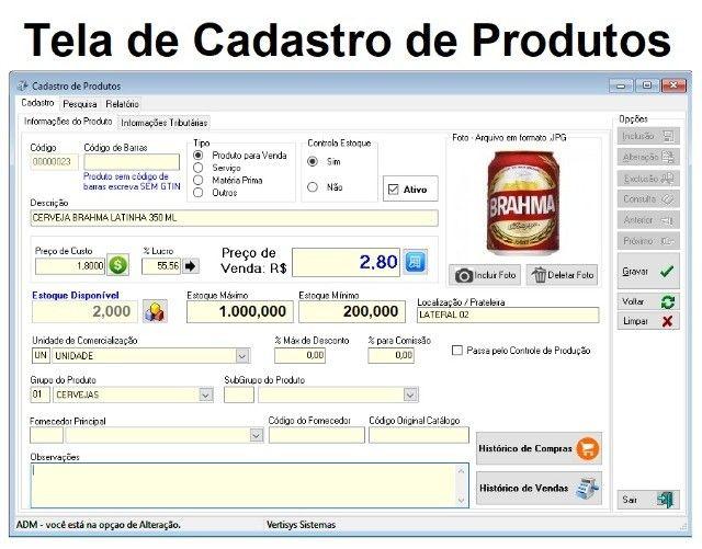 Sistema de Gestão para Distribuidoras de Bebidas, caixa, vendas, estoque, financeiro - Foto 2