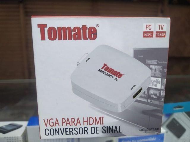Conversor Vga Para Hdmi Tomate Mtv-110