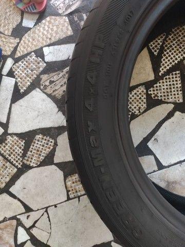 2 pneus aro 18 215/55/18 seminovo - Foto 5