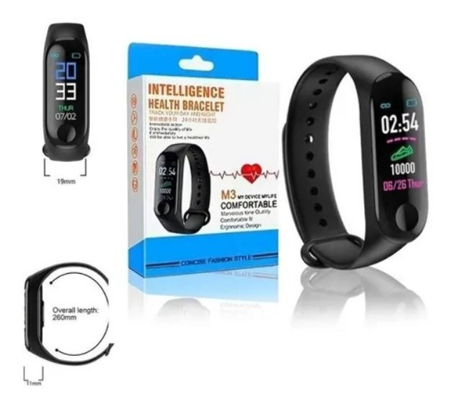 Relógio Inteligente Smartband M3