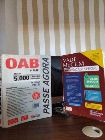 Vade Mecum e preparatório para OAB e concurso