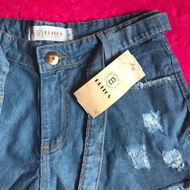 Shortinhos jeans 42 ao 46 - Foto 2