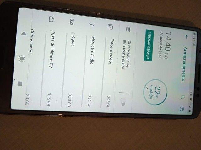 Motorola Moto G6 plus, 64gb, 4 ram, estado de novo.