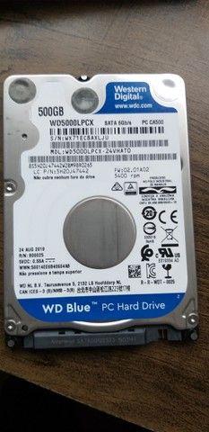 Hd P/ Notebook Wd 500gb Azul