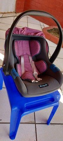 <br>Bebê Conforto Burigotto Touring Evolution Geo Rosa - Foto 3