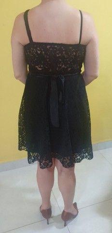 Vestido de Festa Preto - Foto 2