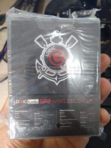 Caixa De Som Bluetooth Corinthians Logic Timao novo lacrado, garantia - Foto 5