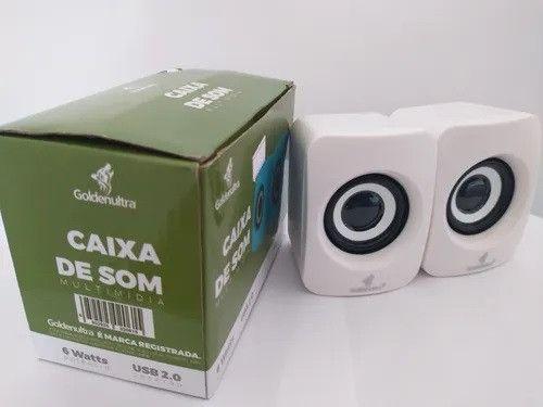 Caixa de Som Multimidia 6 Watts USB 2.0 Goldenultra