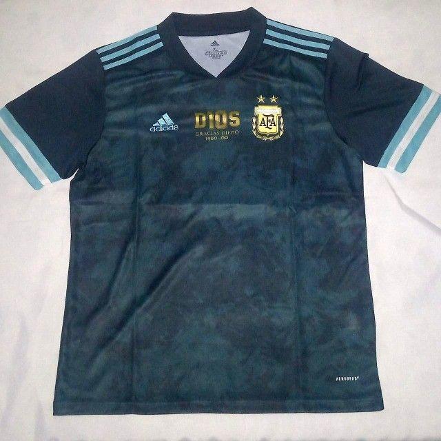Camisa Argentina - Edição Comemorativa - Maradona - Foto 3