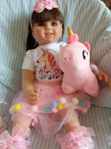 Lindas bonecas tipo reborm realista NOVAS  - Foto 3