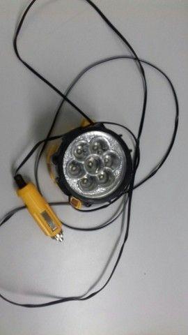 Lanterna Para Veículos Com Base Magnética Com 7 Leds - Foto 3