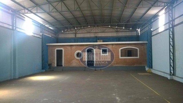 Barracão comercial para venda e locação, Parque Industrial, Araçatuba.