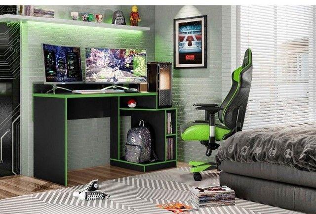 Mesa Gamer Play - Frete grátis / Peça e receba hoje - Foto 3