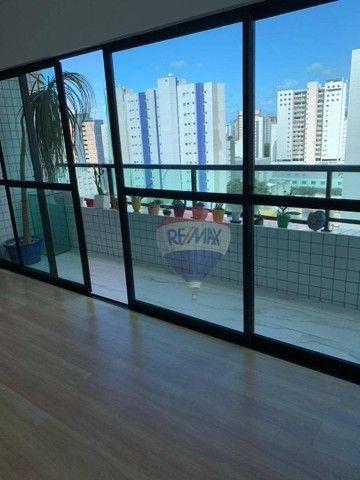 Apartamento com 3 dormitórios à venda, 130 m² por R$ 970.000,00 - Aflitos - Recife/PE - Foto 2