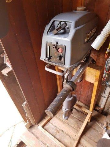 Barco de fibra 3.40 MT + motor 3.300 HP