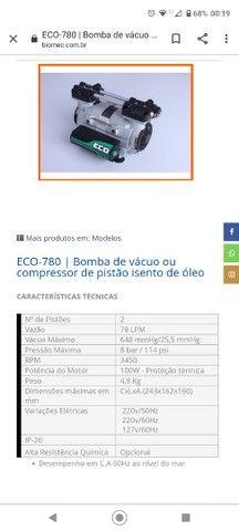 Bomba vácuo e pressão eco 780  - Foto 3