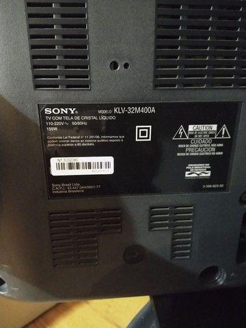 Tv Sony Bravia LCD 32 polegadas - Foto 5