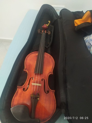 Violino artesanal na caixa - Foto 2