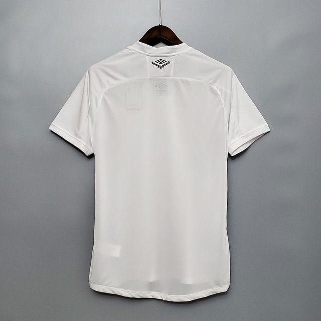 Camisa do Santos branca - Foto 6