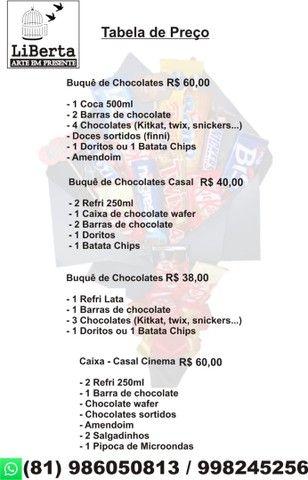 Buquê comestível  - Foto 2