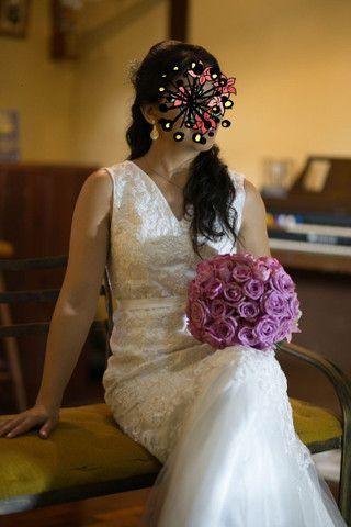 Vestido noiva baixinha - Foto 2