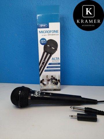 Microfone profissional Knup - Foto 3