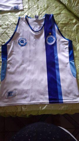 3 (três) camisas de torcida da Máfia Azul, tamanho GG - Foto 5