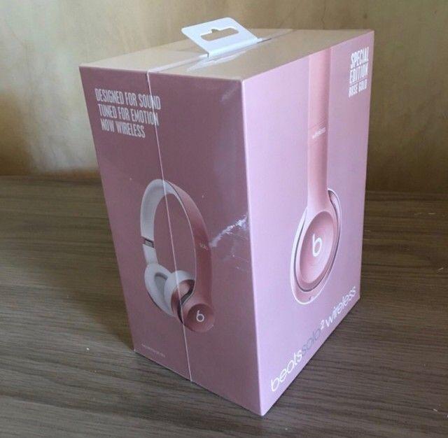 Beats Solo 2 Ouro Rosê Bluetooth (Lacrado/Novo/Original) - Foto 4
