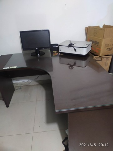 Mesa de canto para escritório - Foto 3
