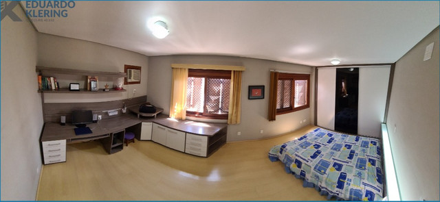 Duplex Horizontal mobiliado, 4 dormitórios, 2 suítes, 3 vagas, 230,40m², 14º andar - Foto 9