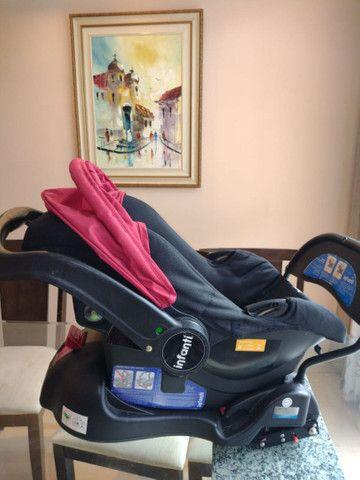 Bebê conforto com base Isofix Infanti Terni - Foto 5