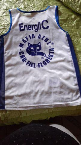 3 (três) camisas de torcida da Máfia Azul, tamanho GG - Foto 4