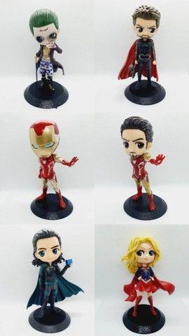 Action Figures: Thor, Homem de ferro, Loki, Mulher gato, mulher maravilha, Arlequina, etc - Foto 3