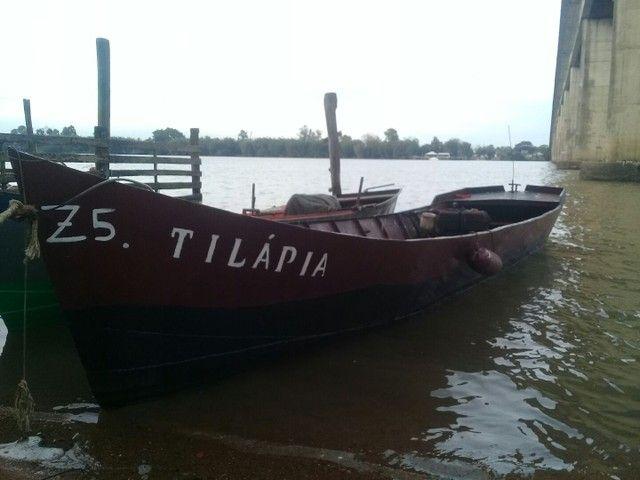 Barco de ferro motor a diesel  - Foto 6