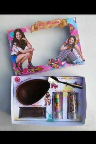 Ovo de colher e caixa personalizada  - Foto 5