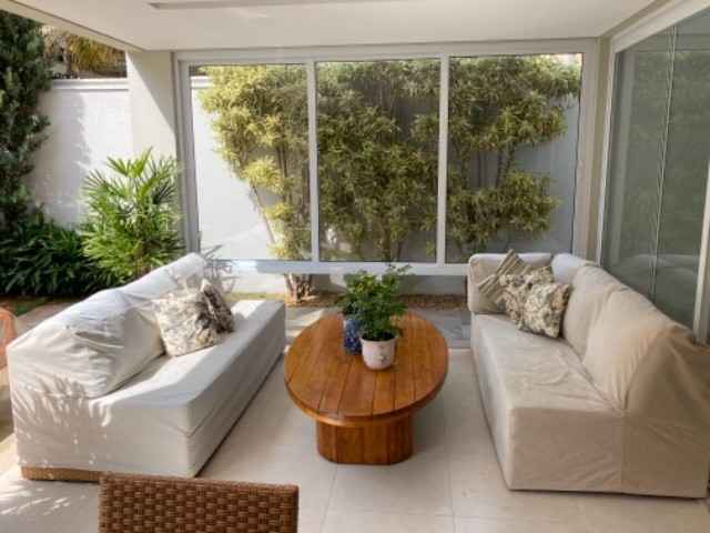 """Vendo sofá em junco de 3mx2,10 (dois módulos de 2,10 que se somam em """"L""""). - Foto 3"""
