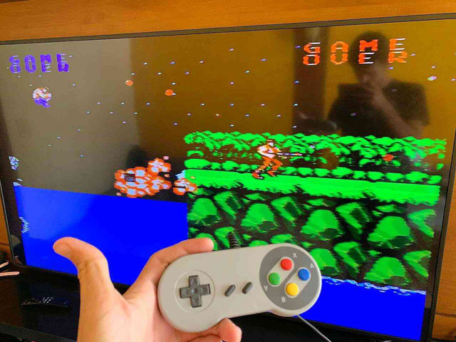 Video Game emulador Nintendinho Eony 8 bits  - Foto 3