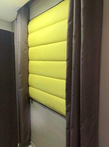 Cortina Acústica Black Out Isolamento (( Altura x Largura x Valor Por Metro Quadrado )) - Foto 5