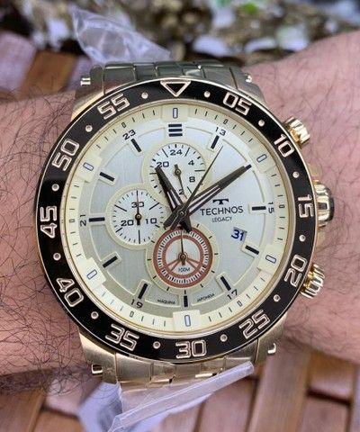 Relógios Masculinos Tecnhos originais - Foto 5