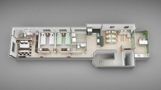 Apartamento B. Jardim Panorama. Cód. A257, 3 qts/suíte, sac gourmet, 84 m². Valor 270 mil - Foto 3