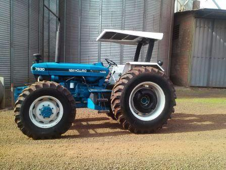 New Holland 7630 ano 1996 4x4