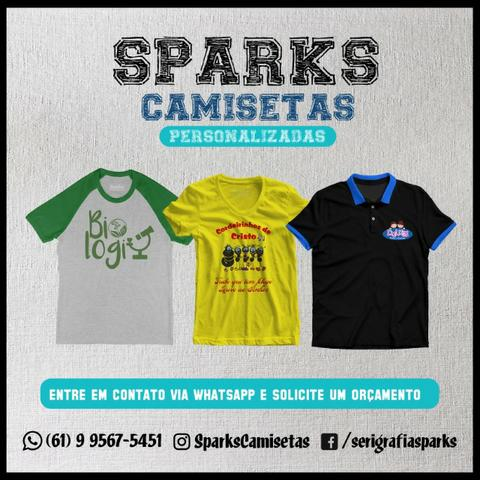 4312d0e9f Camisetas Personalizadas em Valparaíso - Roupas e calçados - Novo ...